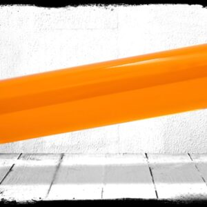 Amber Transparent cast acrylic rod