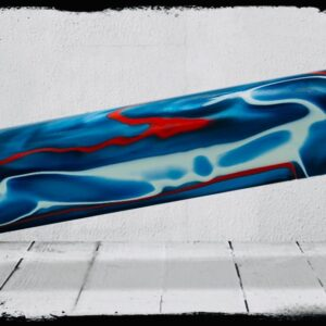 America Swirl Cast Acrylic Rod