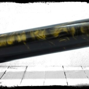 Black Gold Pearl cast acrylic rod