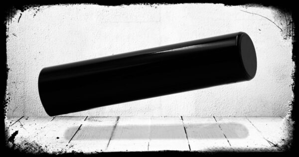 Black Solid Cast Acrylic Rod