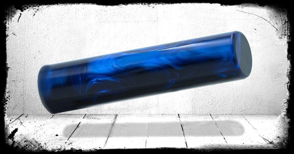 Deepwater Blue Pearl Cast Acrylic Rod