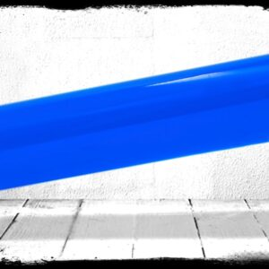 Blue Transparent cast acrylic rod