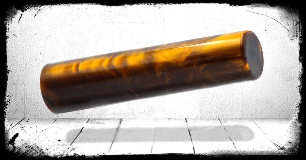 Kodiak Brown Pearl Cast Acrylic Rod