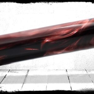 Black Cherry Pearl Cast Acrylic Rod