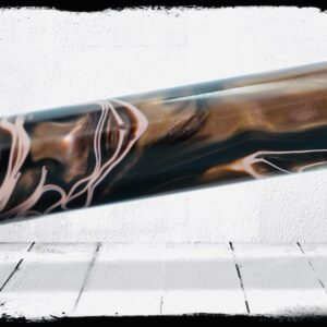 Field Camo Swirl Cast Acrylic Rod