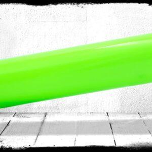 Neon Green Solid Cast Acrylic Rod