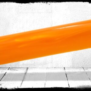 Orange Pearl Cast Acrylic Rod