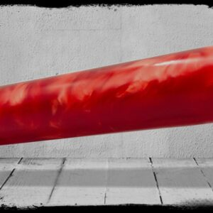Red Pearl Cast Acrylic Rod