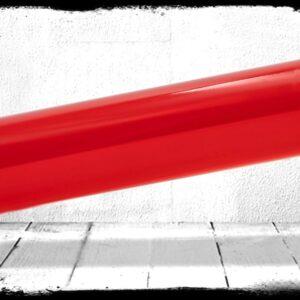 Red Transparent cast acrylic rod