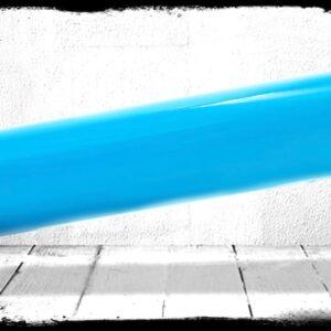 Sky Blue Solid Cast Acrylic Rod