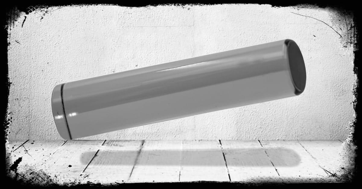 Smoke Transparent cast acrylic rod
