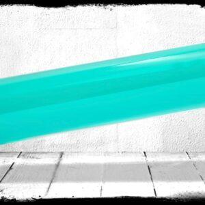 Teal Transparent cast acrylic rod
