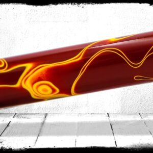 Redskins Swirl Cast Acrylic Rod
