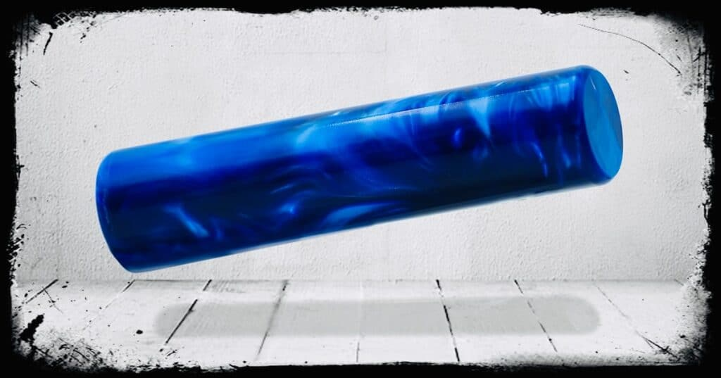 Royal Blue Pearl Cast Acrylic Rod