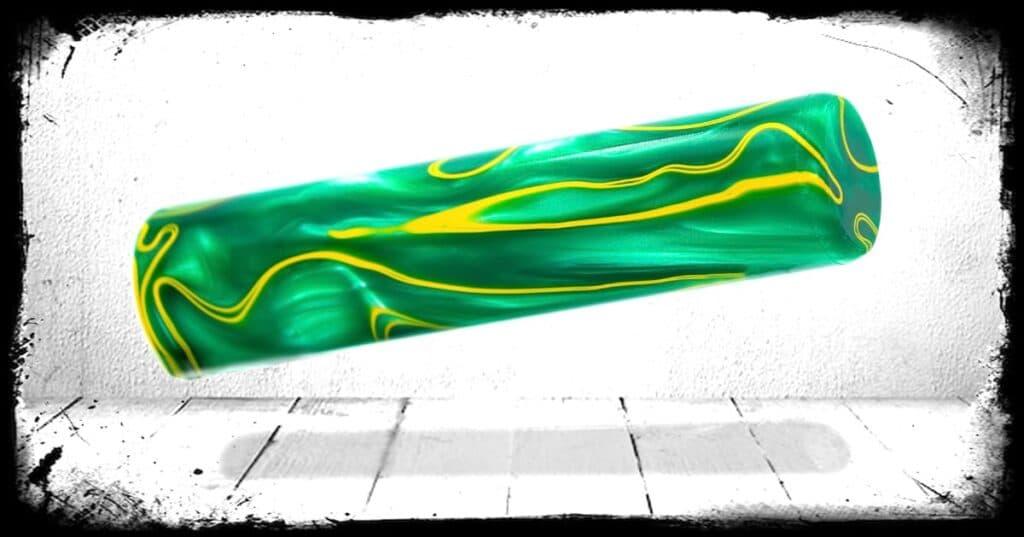 Supersonic Swirl Cast Acrylic Rod