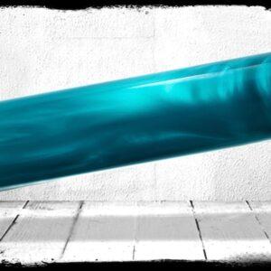 Teal Pearl Cast Acrylic Rod