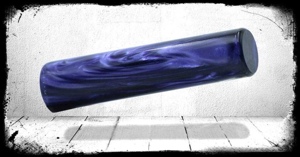 Wicked Purple Pearl Cast Acrylic Rod