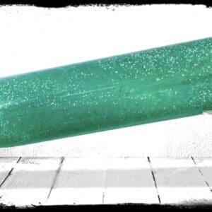 Jade Bassboat - specialty cast acrylic rod